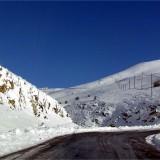 El temporal de nieve cierra la mayoría de puertos de la Ruta.
